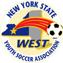 New York State West Youth Soccer Logo